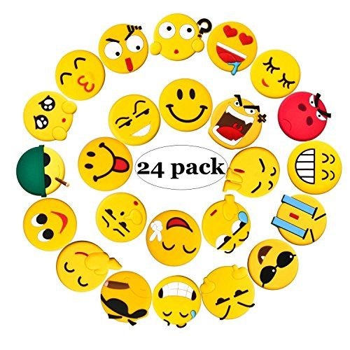 From 10.99:Fridge Magnets 24 Pack Emoji Refrigerator Pvc Magnets Novelty Kitchen Decorative Whiteboard Office Supplies Funny Housewarming Gift | Shopods.com
