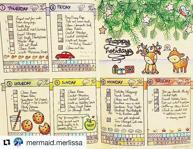 Baby reindeer . #Repost @mermaid.merlissa with @repostapp Bulletjournalcollection
