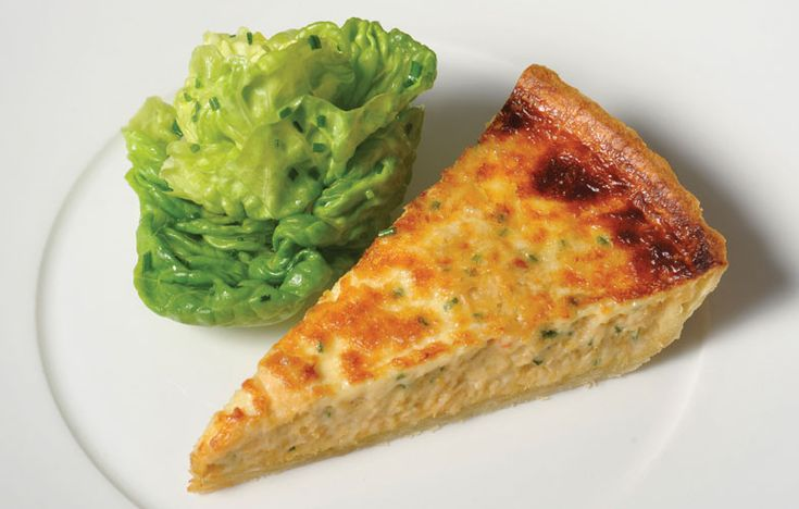 Whitby crab meat tart
