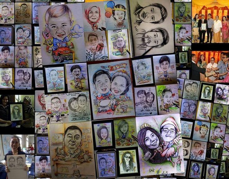 My Charicature #karikatur, #caricature, #order, #jakarta, #halakkita, #lubis, #siantar, #wedding, #birthday, #anniversary