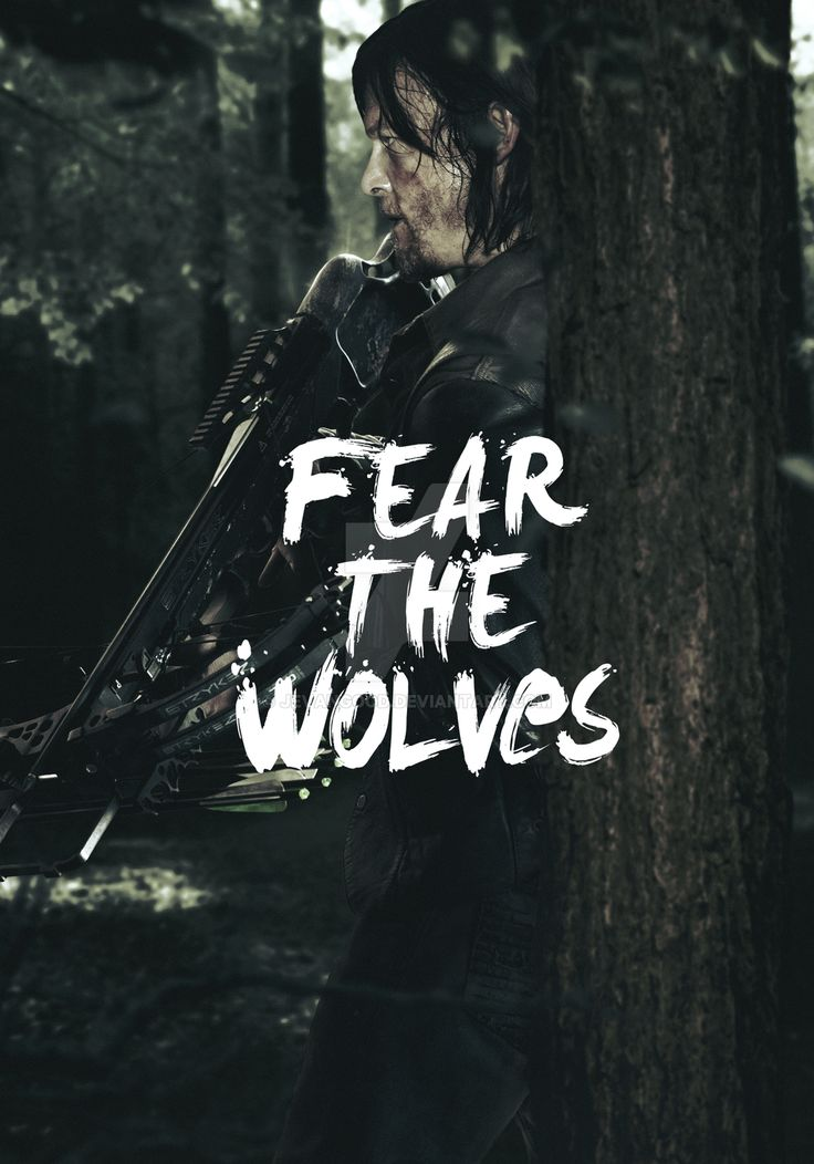 The Walking Dead - Season 6 Daryl Poster by jevangood.deviantart.com on @DeviantArt