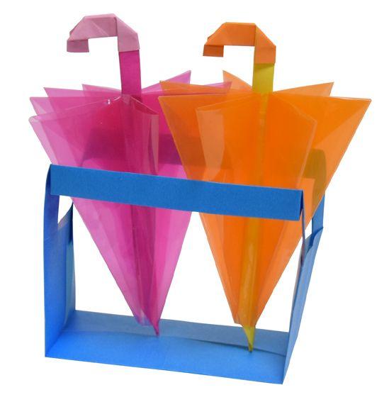 Origami Umbrella stand