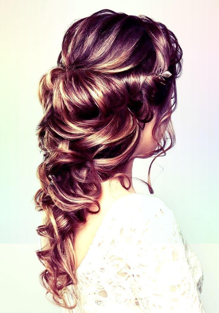 Bridal Hairstyle Half Open for Long Hair – 30 Ideas – Shorthair – #Bride Hair # for #Hair #including # Ideas