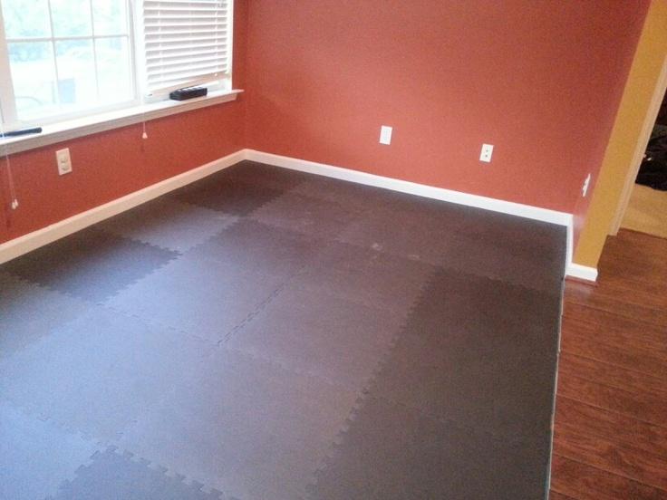 My high impact home gym flooring