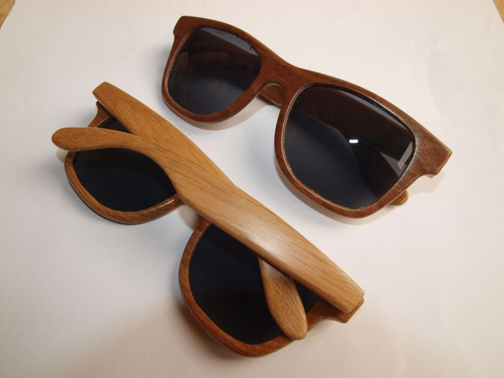 How to make wooden sunglasses