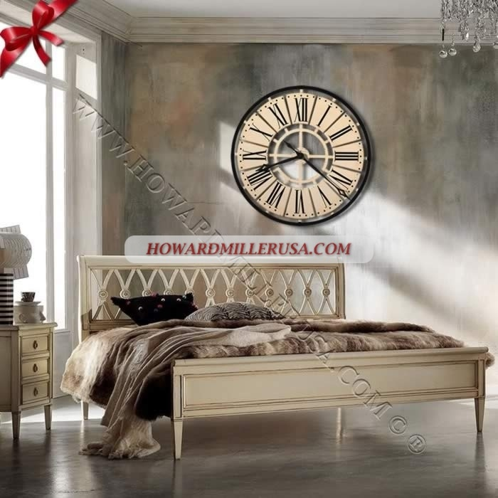Howard Miller Contemporary Wall Clock 625 546 Pierre This Howard Miller  Striking Metal Wall Clock