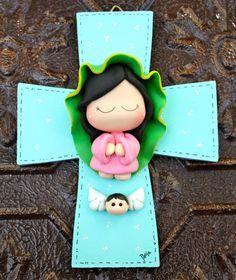 Nuestra Señora de Guadalupe con Cruz Santísima Virgen de por gavo