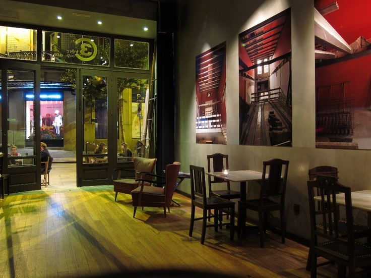 Anoitecer. Clube 3C - Clérigus Café Clube. Rua Cândido dos Reis, nº 18, Porto. Proj de arquitetura: Arq. Paula Tinoco, Gaape. http://gaape-arquitectura.blogspot.pt/2013/07/mais-fotos-do-clube-3c.html