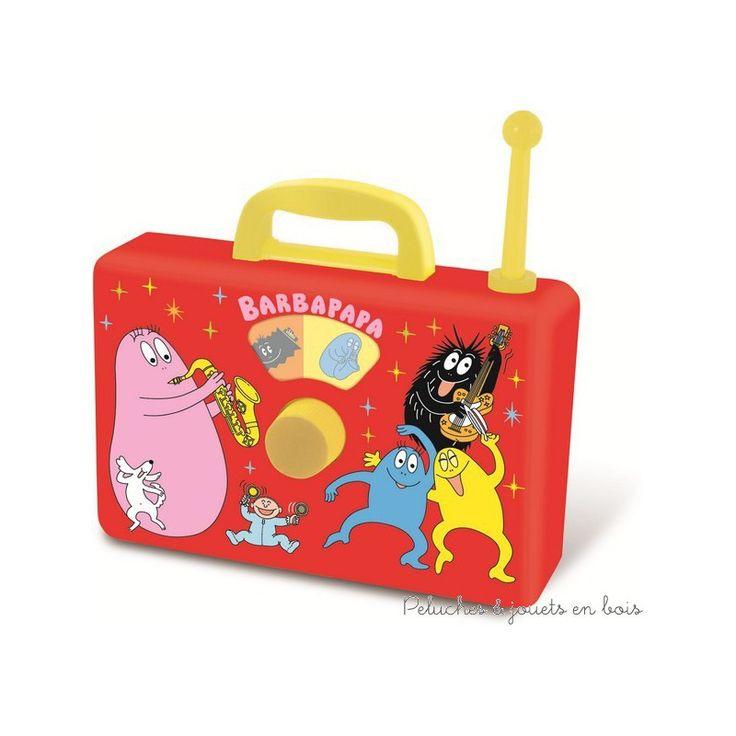 En avant la musique avec ce jouet musical Barbapapa de Vilac, à partir de 3 ans+
