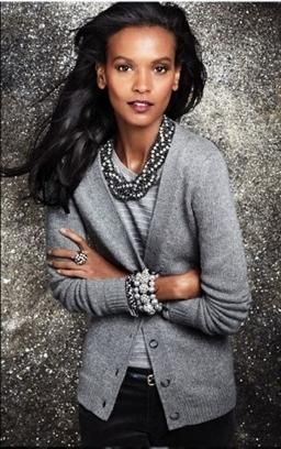 Liya Kebede. Womenswear Fashion