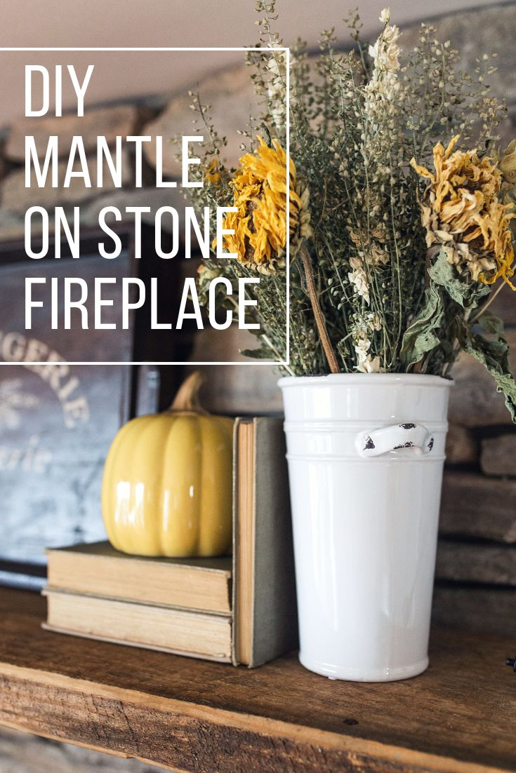 Vorderseite einfaches wohndesign tips u tricks for hanging a mantle on a stone fireplace without