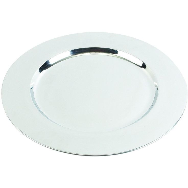 Stainless Steel Charger Plates (Set Of 36)