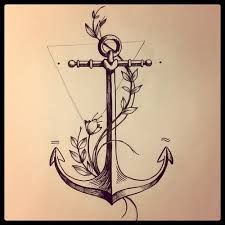 anchor and flowers tattoo - Buscar con Google
