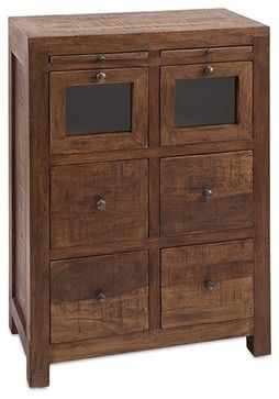 Akins 6-Drawer Chest - industrial - Toy Organizers - Dot & Bo