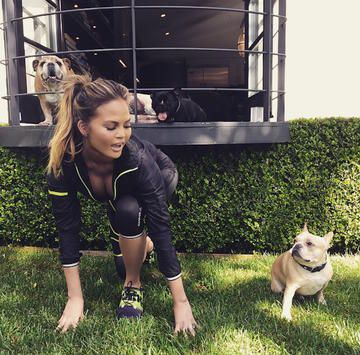 Celebs Who Work Out with Their Pups