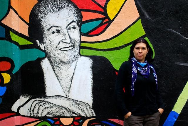 BARBARA FIGUEROA - PRESIDENTA DE LA CUT.- Es una mujer alta, de voz gruesa, que se impone, y a su vez es femenina y dulce. A sus 33 años, y la mitad de su vida como militante del Partido Comunista (PC), hoy lidera la Central Unitaria de Trabajadores (CUT), siendo la primera mujer que preside dicha organización.