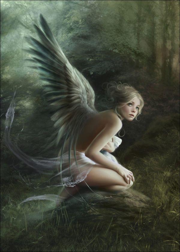 ♥ ⧜иG℮ℓѕ: Melaniedelon, Fairies, Melanie Delon, Fantasy Art, Beautiful, Angels, Mélanie Delon, Fairytale