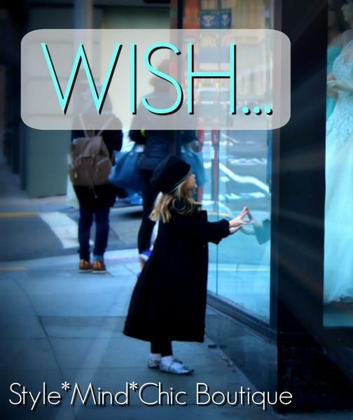 Make a Wish...and a Cyber Sale today at Style*Mind*Chic e-Boutique. Shop the curated collections from designers- global and local - for chic, unique gifts.  | sale | online boutique | gifts | shop online |