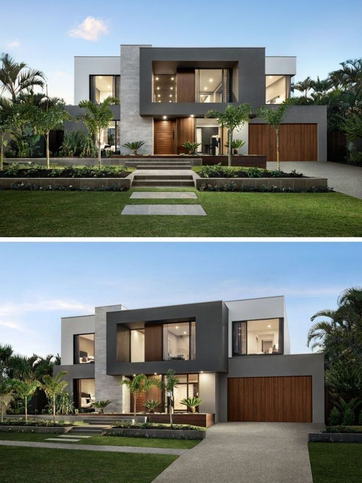 53 Wonderful Contemporary Style Exterior House Design 10 Ideas For House Renovations Small Modern House Exterior House Front Design Minimalist House Design