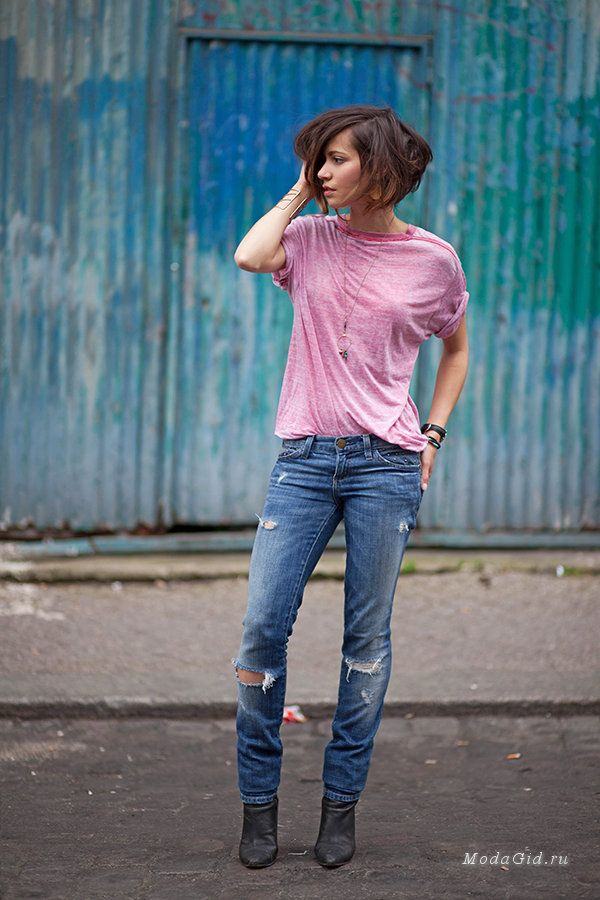 Уличная мода: Zoé Alalouch - воплощение французского шарма