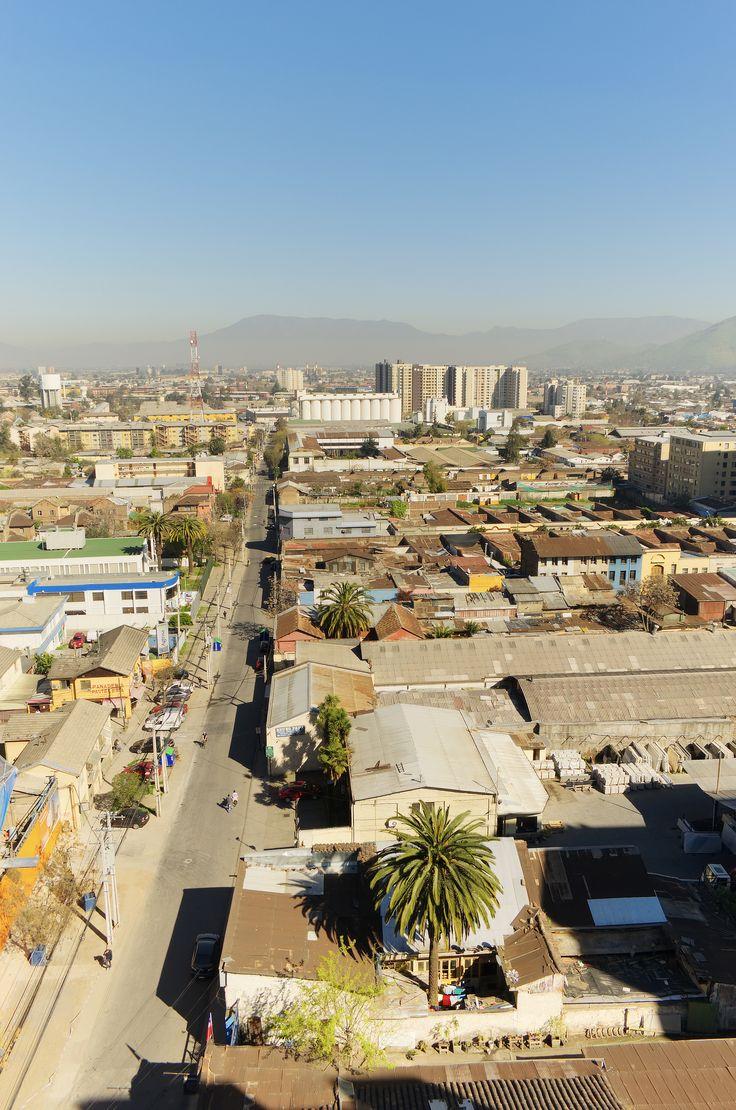Calle Carrión, Comuna de Independencia, Chile.
