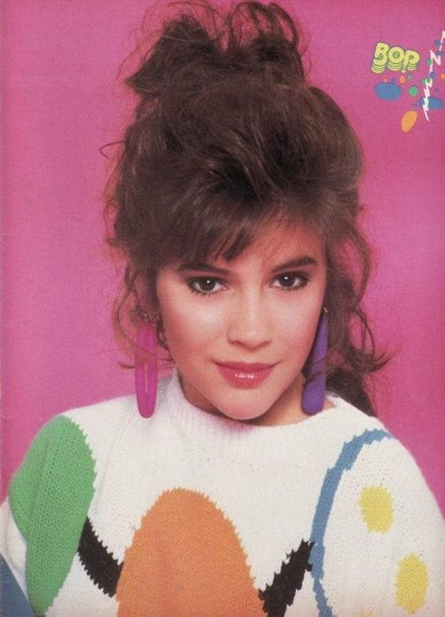 Alyssa Milano: Champion Of '90s Style