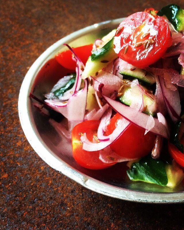 クミン」を使った夏の異国風レシピ。モロッコ風サラダとペルーの ... モロッコ風サラダとペルーのセビーチェ - macaroni