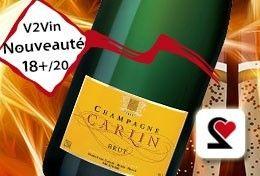 Champagne Carlin, noté 18+/20 par notre Comité de Dégustation à l'aveugle.   Un très grand champagne, avec un rapport qualité prix exceptionnel !   #Champagne #Carlin #Brut #PinotNoir #PinotMeunier #Chardonnay #France