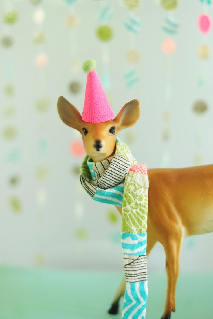 13 Best Images About Animals In Party Hats On Pinterest