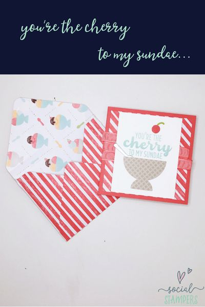 Love Sprinkles? You'll Love This Happiest Birthday Card! Check out the tutorial by Social Stampers. | www.socialstampers.com/blog