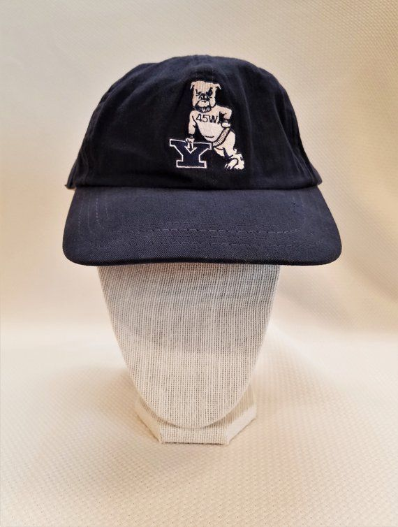 bb08ae76fe92b6 45W Vintage Yale Baseball Cap, Yale War Years, 1945 Yale University Sports  Hat, WW2 Yale, Collectible Yale Memorabilia, Yale Alumni Bulldog