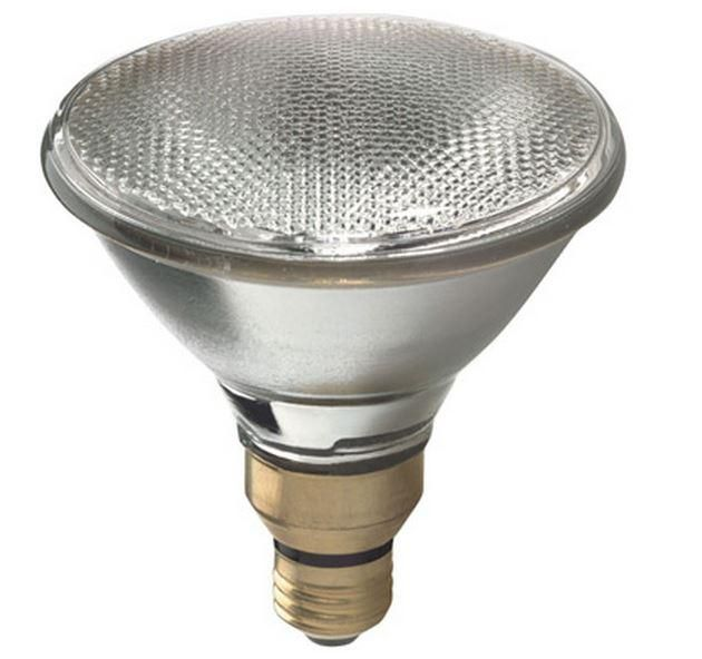 GE 62703 Energy Efficient Halogen Spotlight Bulb, 60 Watts, 120 Volt