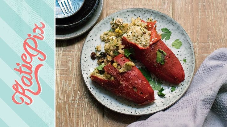 Stuffed Sweet Peppers Recipe for a Speedy Lunch or Dinner | Katie Pix