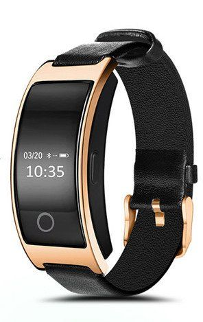 Activity Tracker Watch Blood Pressure Pedometer Fitness Bracelet Vibrating Alarm Clock Smart Band Pulse Gold