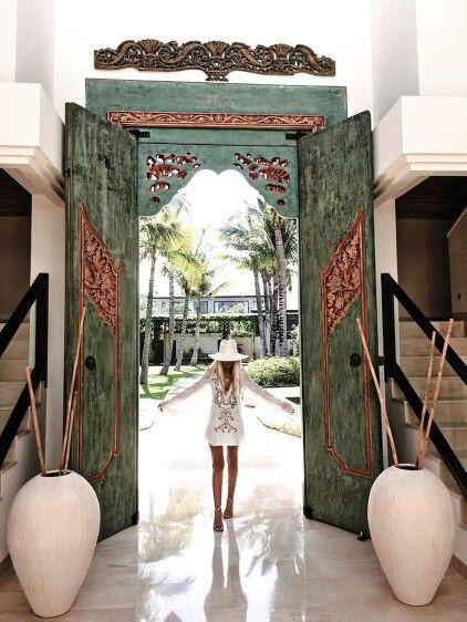 ☮ American Hippie Bohéme Boho Lifestyle ☮  Entry Door