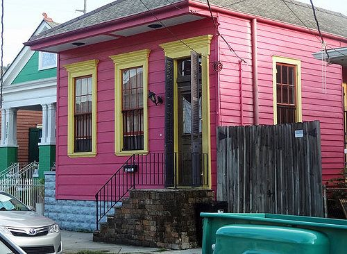 New Orleans Photos: The Houses of Faubourg Marigny and Bywater ...