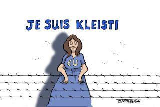 Πολιτική γελoιογραφία: Je suis Kleisti