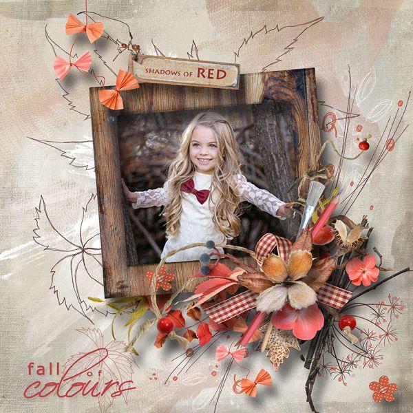"""Autumn...The Crazy Painter"" by MiSi Scrap"