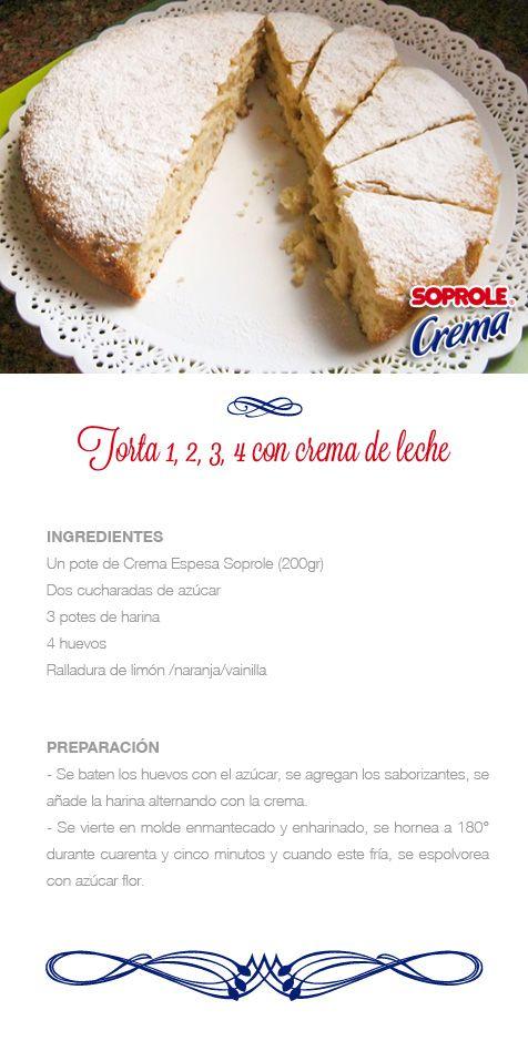 Torta 1,2,3,4