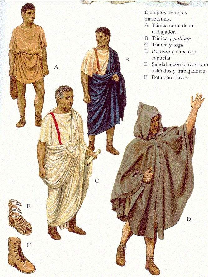 Roman clothes