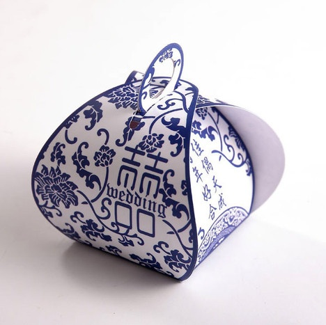 Classical China wedding candies box
