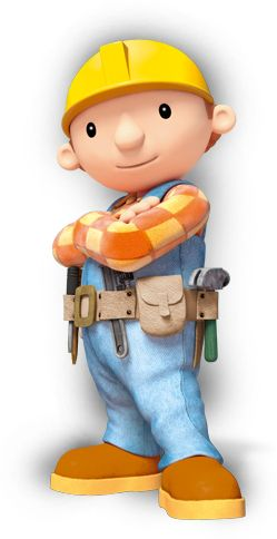 Bob the Builder; my favorite cartoon ever. My mom even made me a Bob cake for my 16th bday. I know I'm crazy