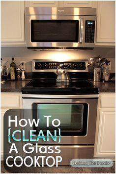 Como limpar seu Cooktop de vidro   – useful
