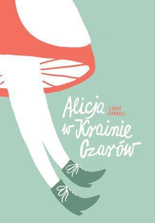 Alice in Wonderland, Polish book cover by Ada Buchholc