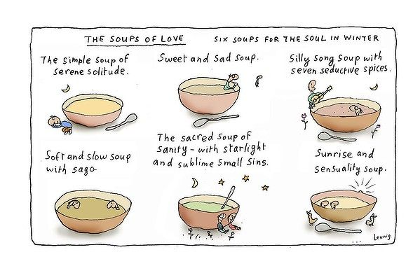 The Soups of Love, Leunig