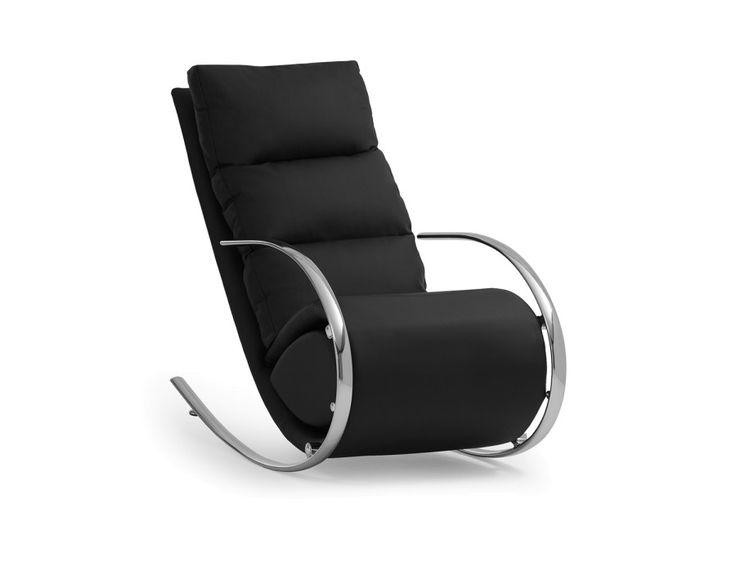 BECKY - Rocking chair - Black