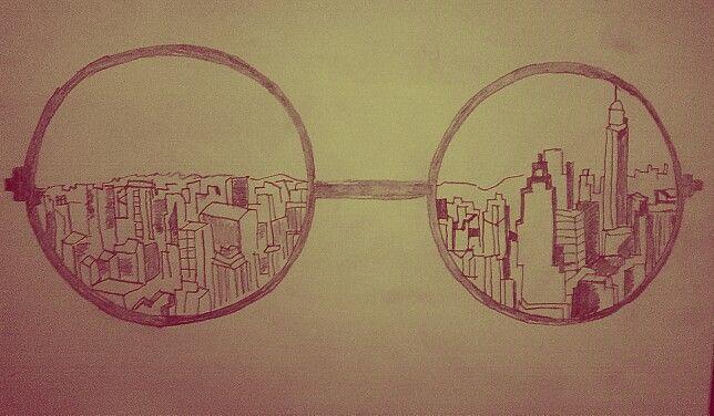 Through my hippie eyes