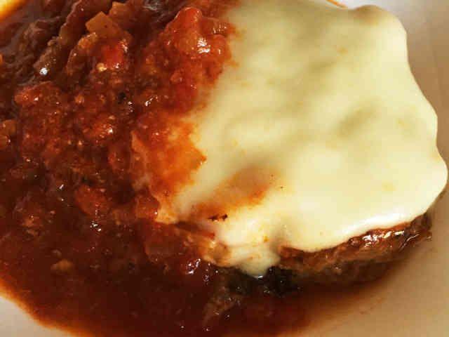 チーズ トマトハンバーグ ♪の画像