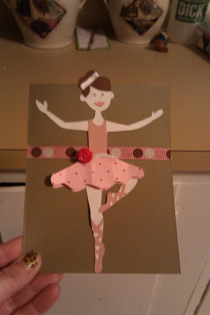 37 Best Images About Ballerina Cards On Pinterest