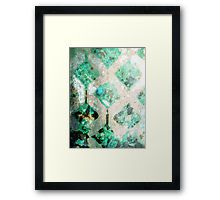A Touch of Geometric Digital art by mimulux patricia no Framed Print